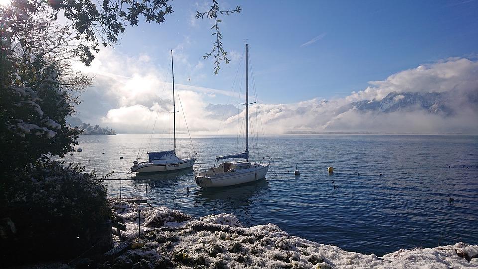 Steven Mesia Winter Sailing
